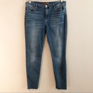 "Joe's Jeans ""Flawless"" The Icon Raw Hem Skinny, 32"